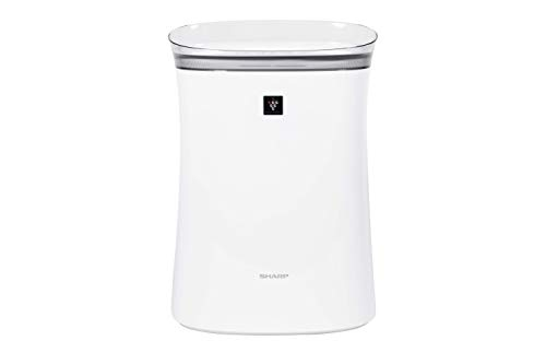 Sharp Plasmacluster Ion Air Purifier, 259 Square Feet, White