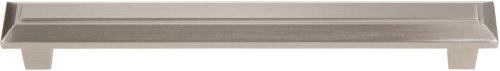 Atlas Homewares 284-BRN Trocadero 7.24-Inch Large Pull, Brushed Nickel