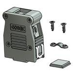 D-Sub Tools & Hardware 9 POS METALIZED HOOD (5 ()