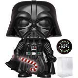 : Holiday - Darth Vader with Glow in The Dark Candy Cane (Limited Edition Chase) Vinyl Figure (Includes Pop Box Protector Case) ()