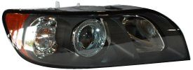 V40 Headlamp Assembly - TYC 20-6857-00 Volvo S-40 Passenger Side Headlight Assembly