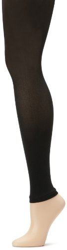 Anne Klein Women's Solid Microfiber Footless Tights