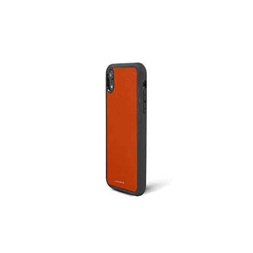 Latest Lucrin - iPhone XR Cover - Orange - Genuine Leather orange iphone xr case 3
