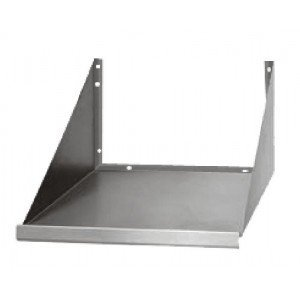 Stainless Steel Microwave Oven Wall Shelf 24 x18