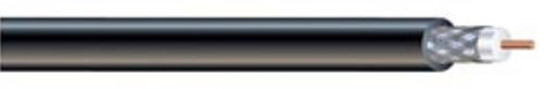 Southwire 56918245 500-Feet Dual Shields Type RG 6/U 18 AWG Coaxial Cable, Black