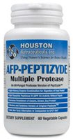 Houston Nutraceuticals, Houston Enzymes AFP-Peptizyde Multiple Protease 90 Vegetable Capsules