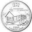 Iowa Quarters - 2004-D Washington Quarter - Iowa