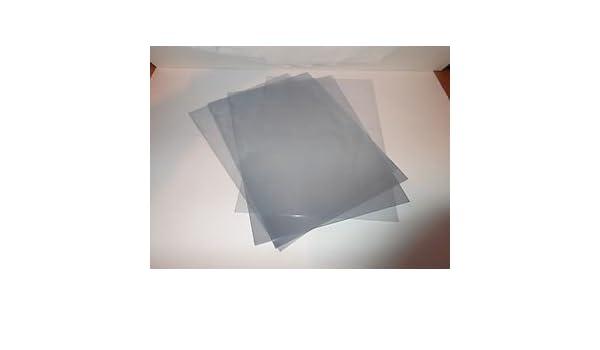 Ocasiones calidad cajas de regalo 20 A4/láminas de plástico - de acetato transparente 150 micras: Amazon.es: Oficina y papelería
