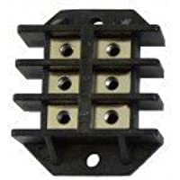 6 Terminal Mounting Block - Part for EdenPURE 1000 GEN3 & SunTwin 1500 GEN3 Infrared Heater