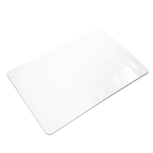 Ilyapa Heavy Duty Office Chair Mat, 30 x 48 Inches - Clear, Durable PVC Chair Mat for Hardwood Floors - Protective Floor Mat for Office, Computer Desk Chair Mat