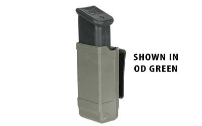 BLACKHAWK! Double Stack Single Mag Case (Matte Finish for 9mm/.40 cal), Black, Outdoor Stuffs