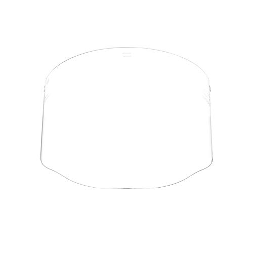 3M Clear Polycarbonate Faceshield WP96, Face Protection 82701-00000, - Replacement Shield Face