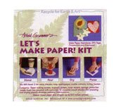 A.grummer Let's Make Paper! Kit - Seed Paper Ornament