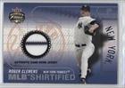 Roger Clemens (Baseball Card) 2003 Fleer Focus Jersey Edition - MLB Shirtified - Jerseys [Memorabilia] #MLB-RC