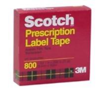 Scotch Prescription Label Tape, 1 Roll 1 in X 2592 in (72 -