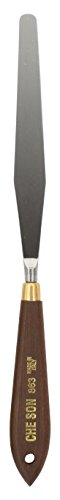 Jack Richeson 500863 4-1/2'' Blade Italian Steel Paint Knife by Jack Richeson
