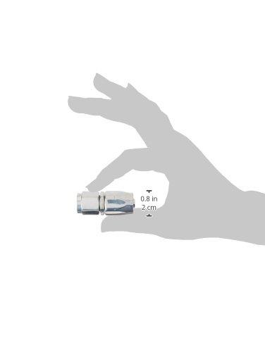 Professional Products 6AN Straight Hose End Fitting 17001 Polished