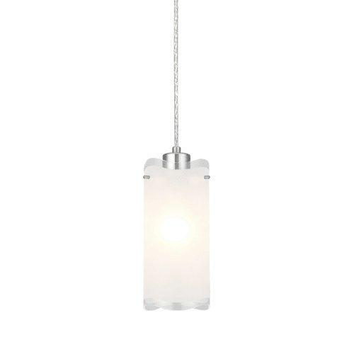 Eglo 90338A Felice Mini Pendant Hanging Light, Matte Nickel