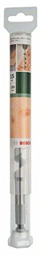 Bosch 2609255256 Wood Auger Drill Bit with Self-Cutting Threaded Point//Diameter 30mm
