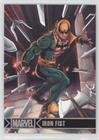 Iron Fist (Trading Card) 2012 Rittenhouse Marvel Greatest Heroes - [Base] - Holofoil #41