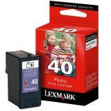 Genuine Lexmark Lexmark No. 40 Photo Ink Cartridge Per - Wireless Lexmark Printer X6570