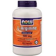 NOW Foods Arginine 500mg