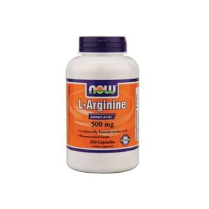 NOW Foods Arginine 500mg