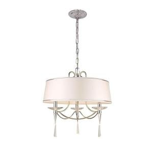 (Halina Collection 3-Light Drum Pendant)