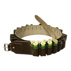 Bisley Leather Cartridge Belt - 12 Gauge - 49 cartridge capacity - 32 to 39 inch