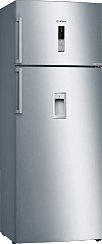 Bosch 507 L 2 Star Inverter Frost Free Double Door Refrigerator  KDD56XI30I, Stainless Steel