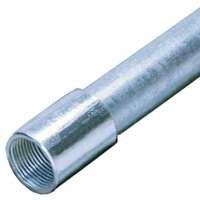 ALLIED TUBE & CONDUIT 2 1-2 RIGID Conduit Galvanized Steel, 2-1/2-Inch by 10-Feet