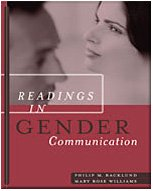 Readings in Gender Communication (with InfoTrac)