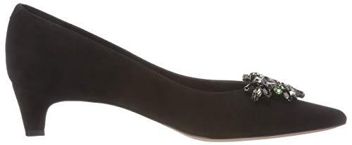 Mujer Nero Zapatos Cerrada Sandra Nero con Tacón de Oxitaly Punta Negro 430 para qZ7zxap6