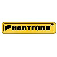 Hartford STREET - US Cities - Street Sign [ Decorative Crossing Sign Wall Plaque ] (Wall Hartford Plaque)