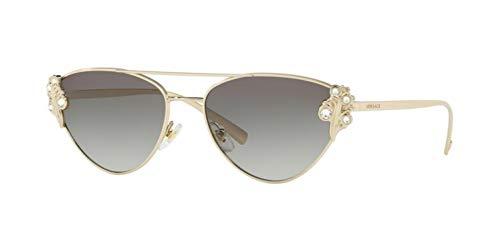 Versace Women's VE2195B Pale Gold/Grey Gradient One Size