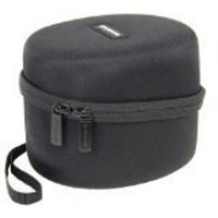 Caseling Hard Case for Howard Leight Impact Sport OD Electric Earmuff - Includes Mesh Pocket for Accessories - Black
