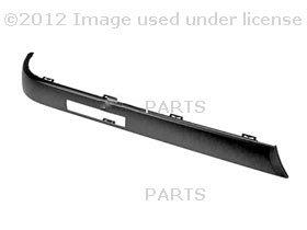 BMW E30 318 325 Left Rear Bumper Impact Strip Genuine Bmw 318 E30