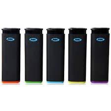 (5 Full Size MK Jet Torch Lighters Windproof Refillable Butane Cigarette Lighter)