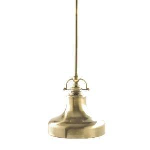 Nautical Mini Pendant Light Antique Brass
