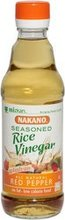 NAKANO VINEGAR RICE RED PPPR, 12 OZ