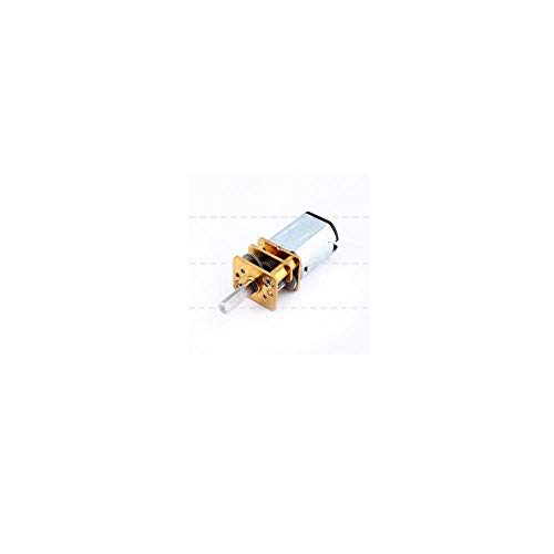 Wal front DC 12V 200 RPM Speed Reduction Gear Motor Metal Gearbox N20 3 MM Shaft Diameter × 10 MM Shaft Length DIY Electric Toys Robots Engine Model