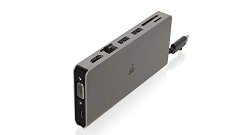 IOGEAR USB-C Pocket Dock Power Delivery 3.0 (GUD3C08) by IOGEAR