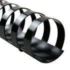 Spines, 1-Inch Spine Diameter, Black, 200 Sheet Capacity, 10 Spines per box (4090064) ()