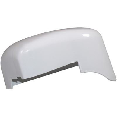 Fiamma F45i Left Hand Motorhome Awning Outer End Cap Cover Polar White 98655-014