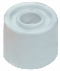 Door Stops Small White h. 2cm x d. 3cm (Pack of 2) (Product Code - U-B0063) Banner