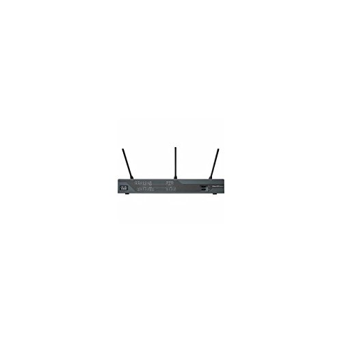 Cisco 891FW - Wireless router - ISDN/Mdm - 8-port switch - GigE - 802.11 a/b/g/n - Dual Band (8 Ports Wireless Router)