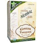 The Mate Factor Ginger Turmeric with Black Pepper, 20 Count