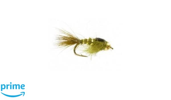 OLIVE Fly Fishing 12 One Dozen - Woolly Bugger Flies