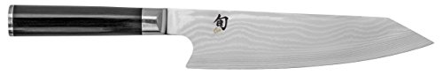 "Shun DM0771 Classic Kiritsuke Knife, 8"", Silver"
