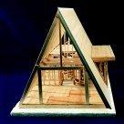 A Frame House Kits - Brodhead Garrett A-Frame House Framing Kit